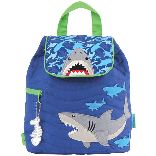 Stephen Joseph Quilted Backpack, Shark