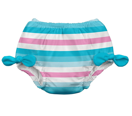 i play. Swim Nappy Bow (18-24 Months, Aqua Stripe)