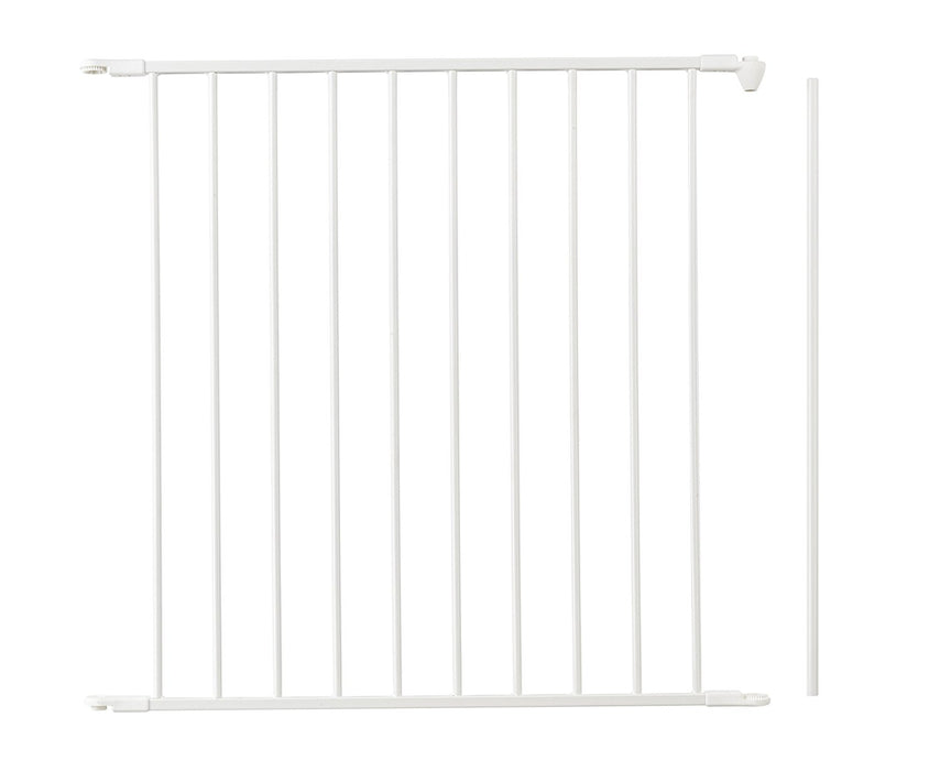 BabyDan Extension Section for Flex/Configure Type Gates, 72 cm, White