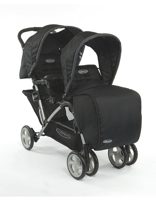 Graco Stadium Duo Double Pushchair, Oxford