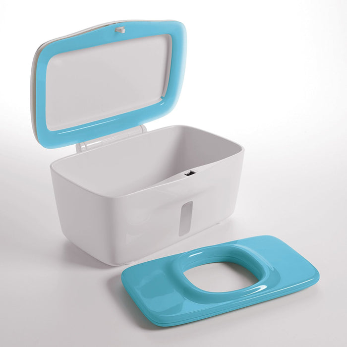 OXO Tot PerfectPull Wipes Dispenser with Weighted Plate- Aqua