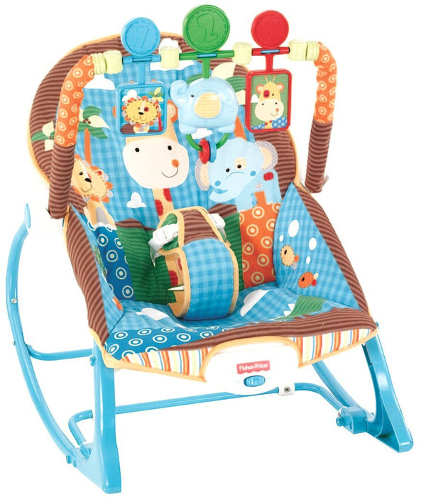 Fisher-Price Infant To Toddler Rocker, Jungle Fun