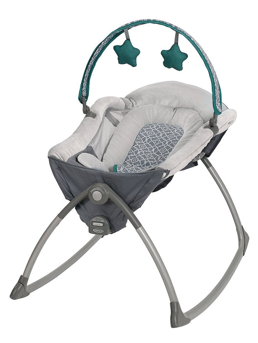 Graco Little Lounger Rocking Seat Plus Vibrating Lounger, Ardmore