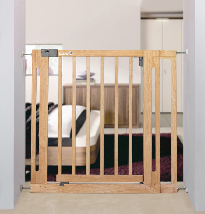 Safety 1st 24940100 Safety gate extension baby safety gate accessory - baby safety gate accessories (Wood, Wood, Safety gate extension)