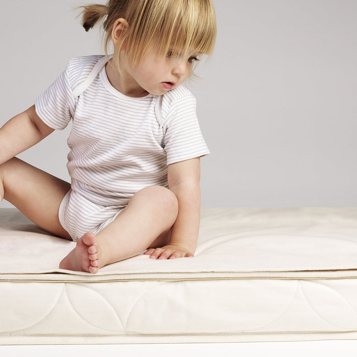 The Little Green Sheep Waterproof Mattress Protector to fit Stokke Mini Crib