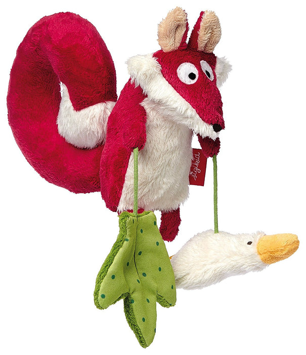 sigikid Fox Textile Clip Mobile for Car Seat