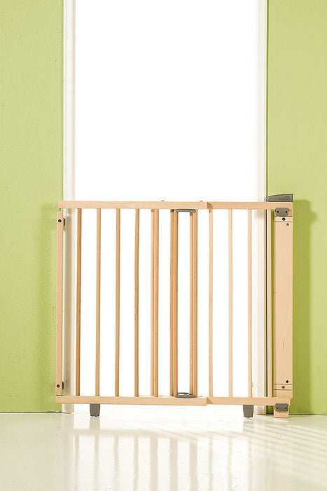 ... Geuther 2735 Swinging Safety Gate For Stairs (Natural)