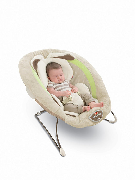 Fisher-Price Deluxe Bouncer, My Little Snugabunny