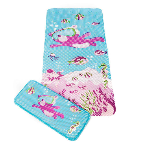 Clevamama Under The Sea Bath Mat & Kneeling Cushion