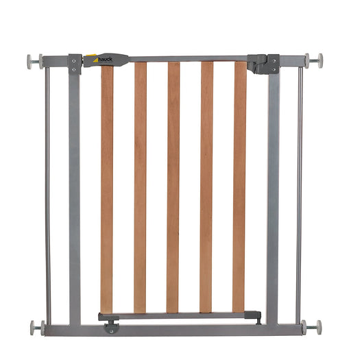 Hauck Wood Lock Safety Gate (75 - 81 cm) Silver