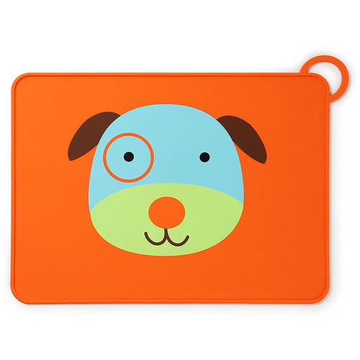 Skip Hop Zoo Fold & Go Silicone Placemat  - Dog
