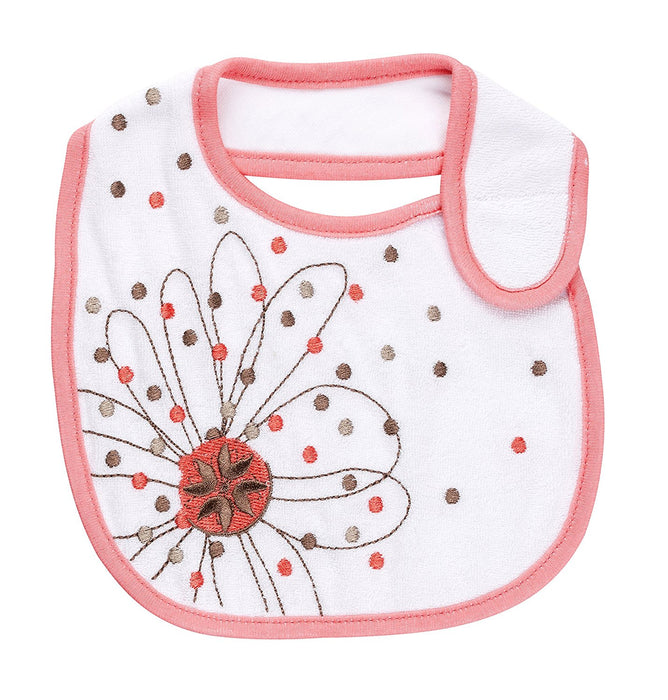 Badabulle Bibs (Set of 2, Pink)