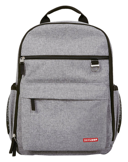 Skip Hop Duo Diaper Backpack - Heather Grey