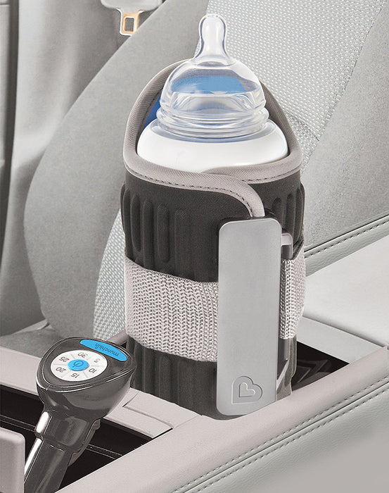 Munchkin Travel Car Baby Bottle Warmer, Grey