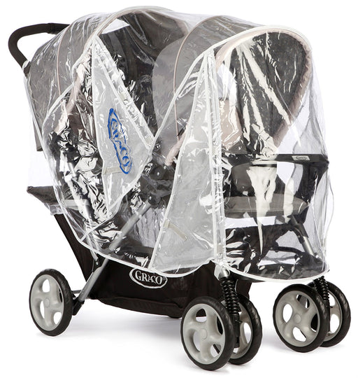 Graco Stadium Duo Tandem Pushchair Raincover