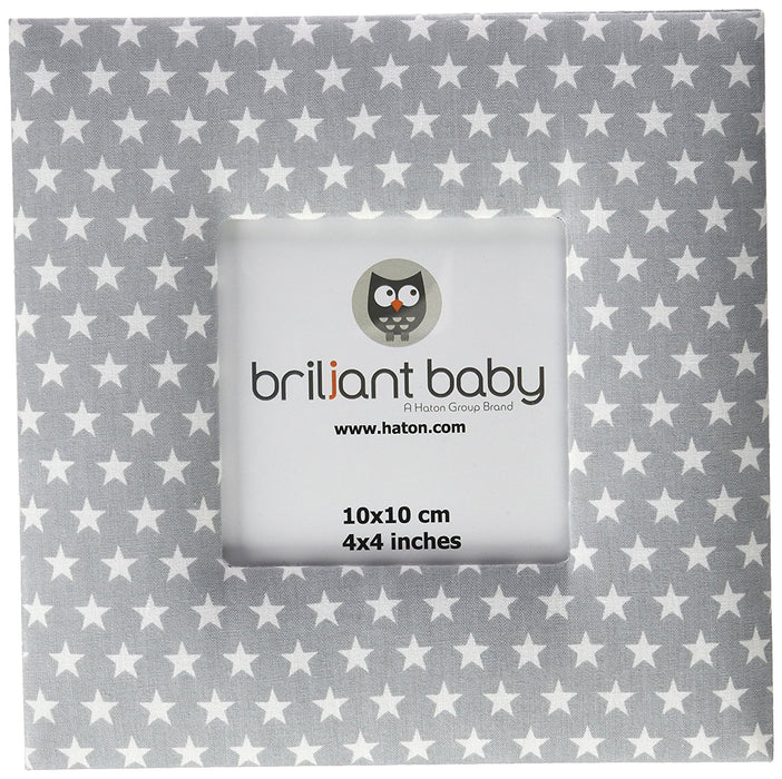 Briljant Sam Picture Frame 10 x 10 cm Grey