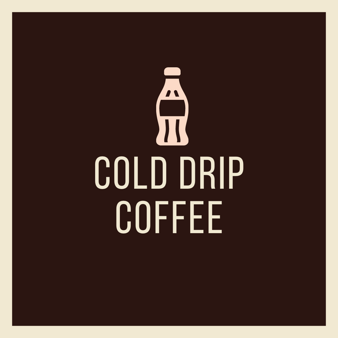 Cold Drip Black Coffee