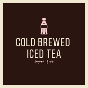 Cold Brewed Iced Tea - Sugar Free