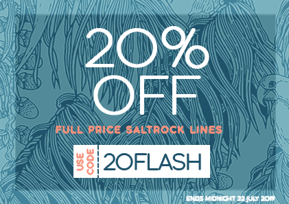 20% off full price Saltrock