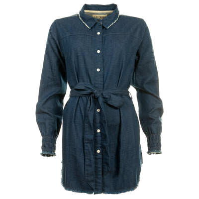 Saltrock - Chinapa - Women's Chambray Dress - Blue
