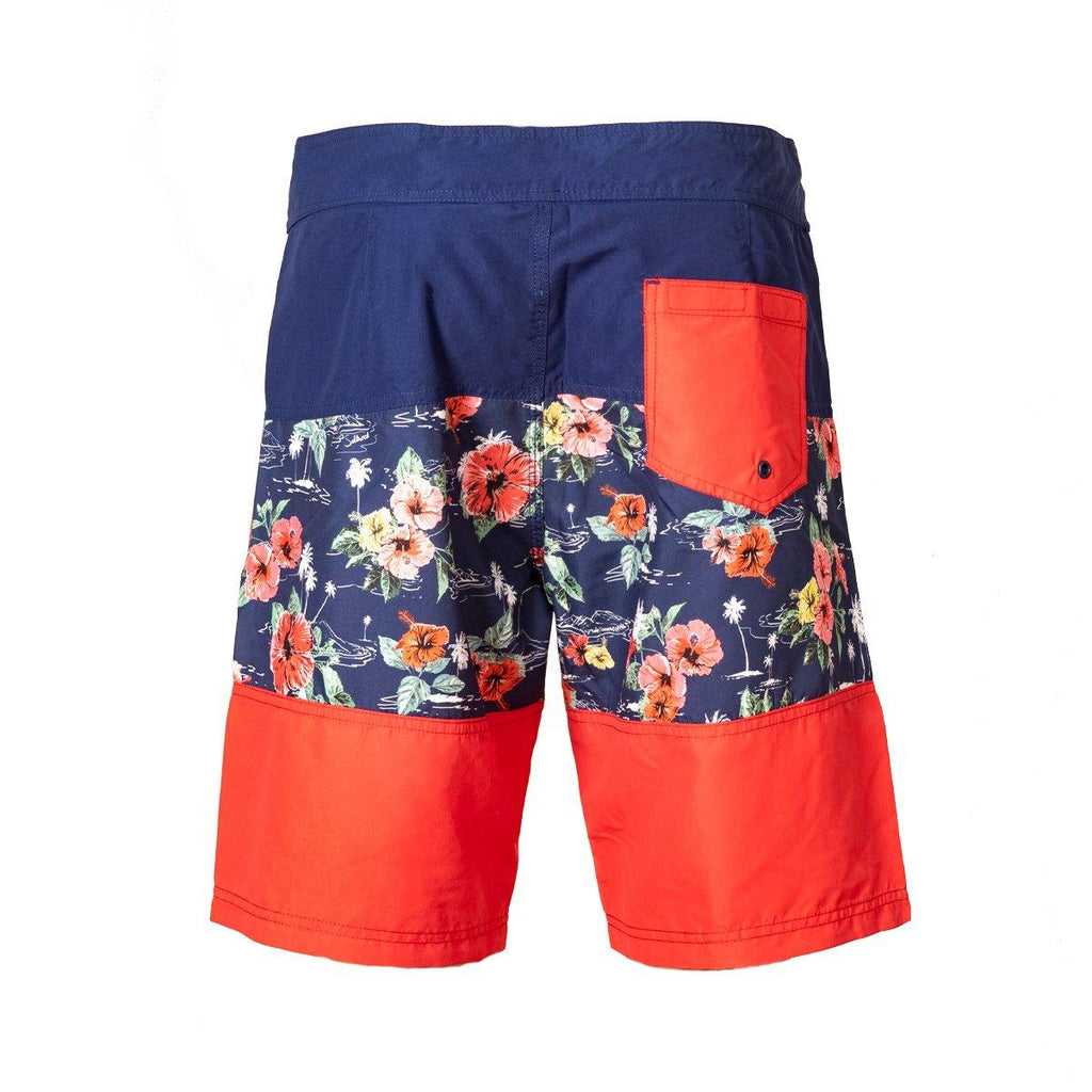 Saltrock - Floral - Men's Boardshorts - Blue