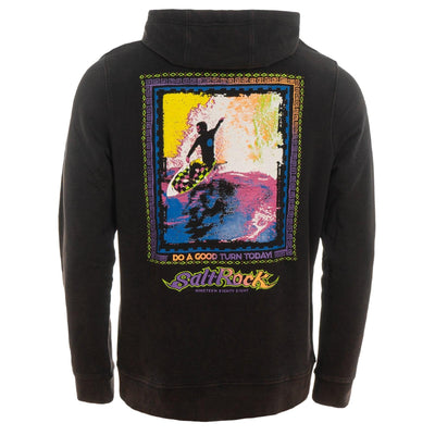 Saltrock - Good Turn - Men's Pop Hoodie - Black