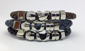 6mm Brown Bolo leather bracelet