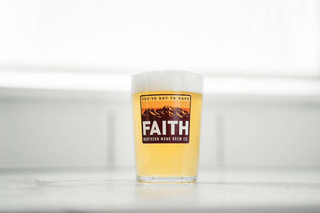 YOU'VE GOT TO HAVE FAITH GLASS
