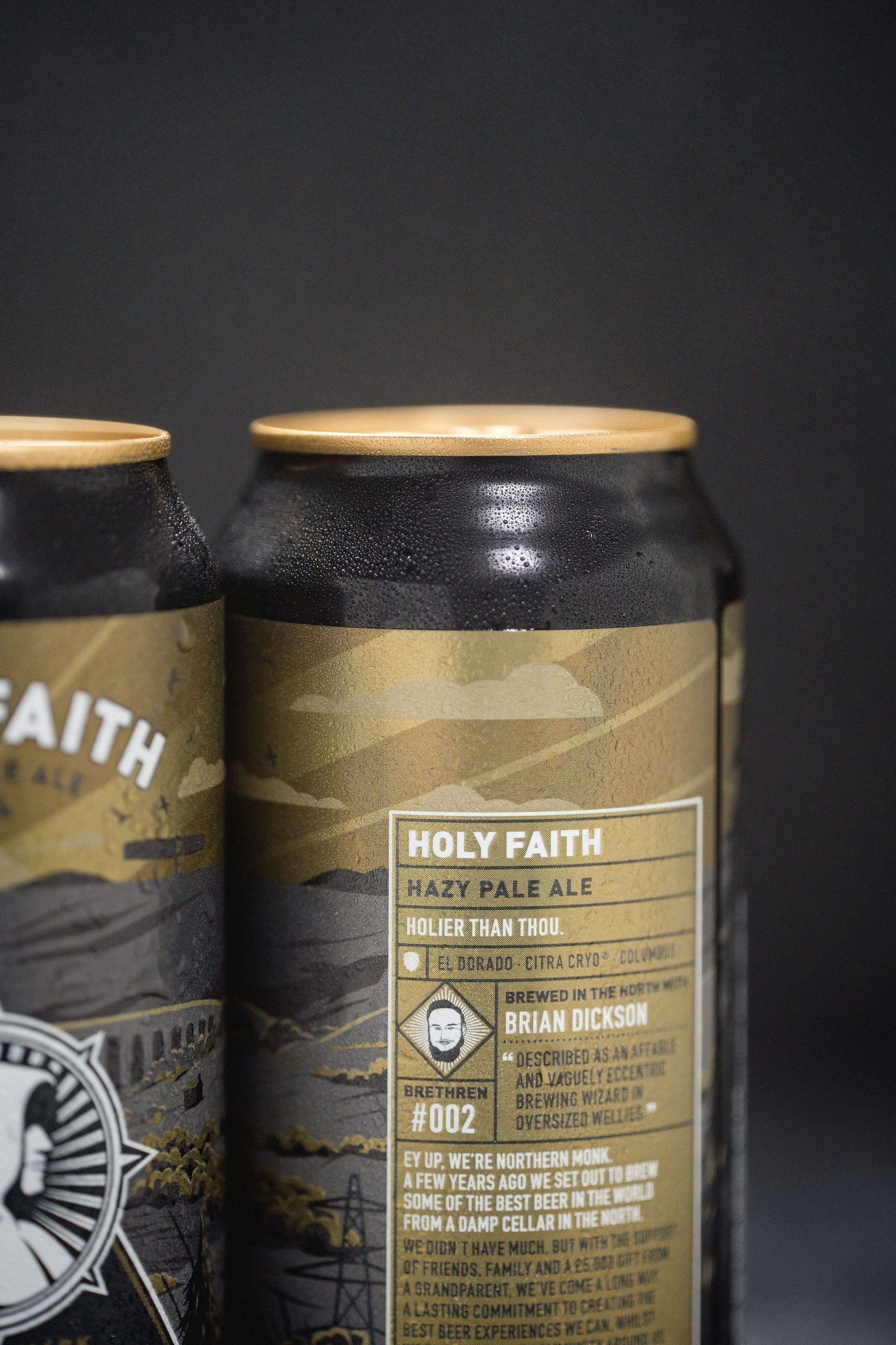 HOLY FAITH // ALCOHOL FREE HAZY PALE ALE // 6 PACK