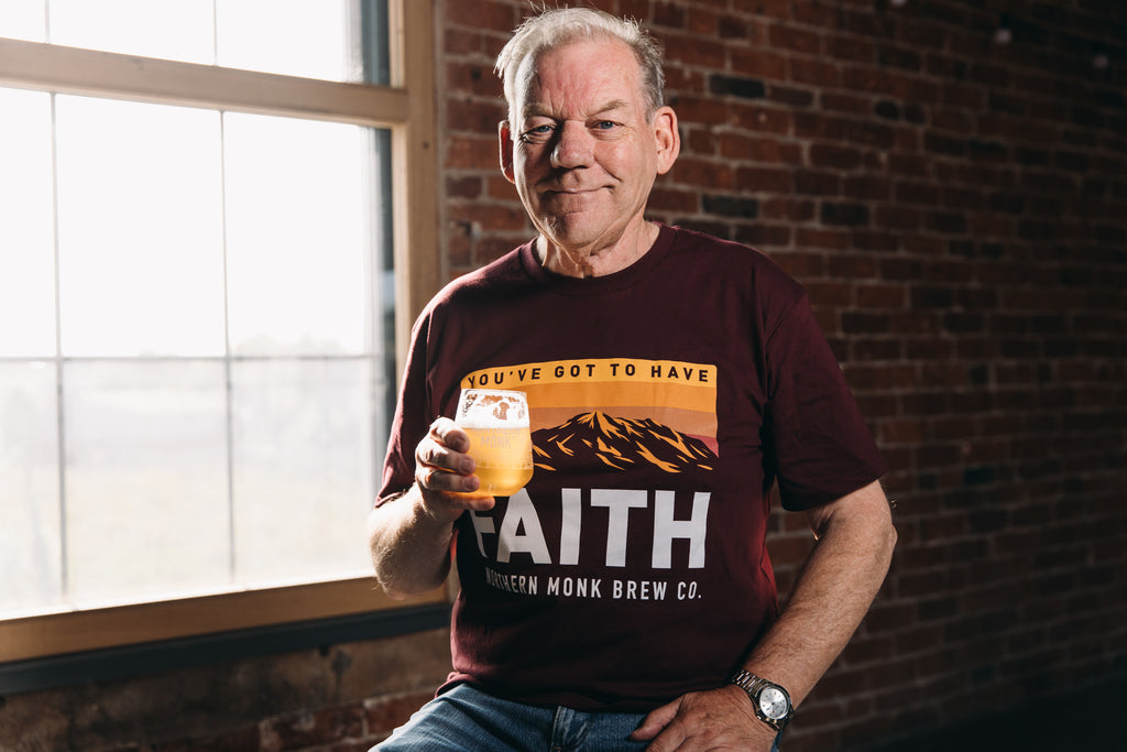 UNISEX BURGUNDY YOU'VE GOT TO HAVE FAITH TEE