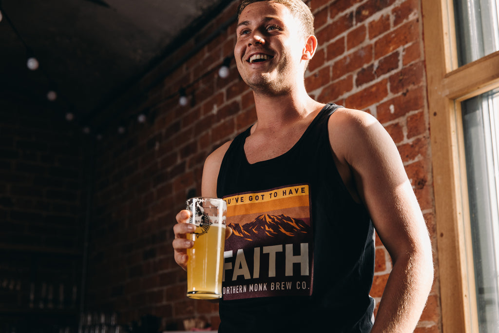 UNISEX BLACK YOU'VE GOT TO HAVE FAITH VEST