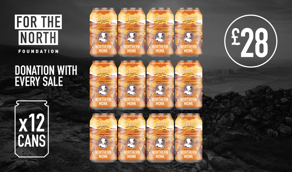 FAITH™ Hazy Pale Ale // 12 x 330ML PACK
