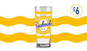 SEABROOK // CHEESE & ONION PINT GLASS