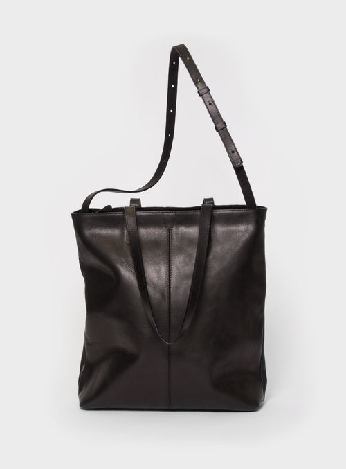 TB02 ZIP PLUS Tote Bag Black  - View 1