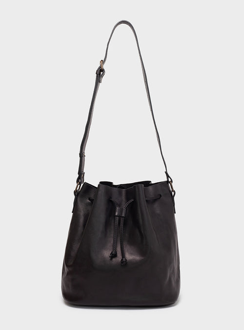 BB01 Bucket Bag Black - View 2
