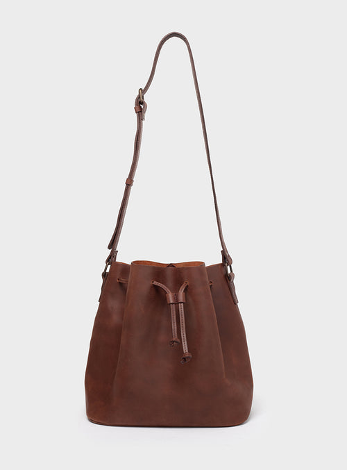 BB01 Bucket Bag Dark-Brown - View 2