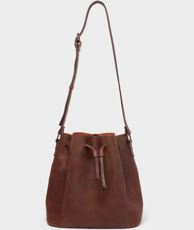 PARK Bucket Bag BB01 Dark-Brown