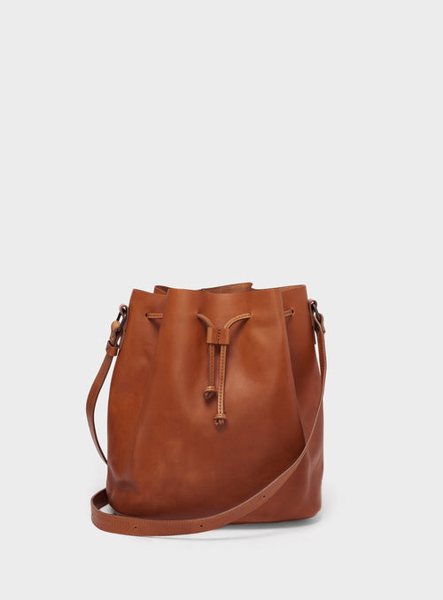 BB01 Bucket Bag Brown  - View 1
