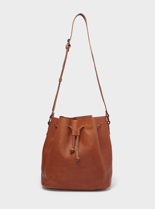 BB01 Bucket Bag Brown - View 2