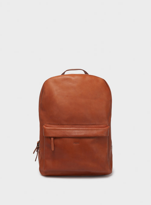BP02 Backpack Brown  - View 1