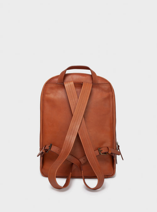 BP02 Backpack Brown - View 2