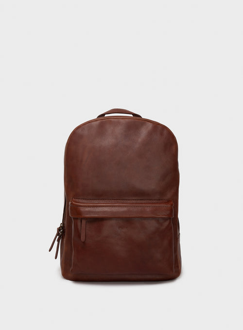 BP02 Backpack Dark-Brown  - View 1