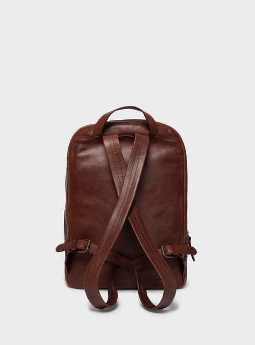 BP02 Backpack Dark-Brown - View 2