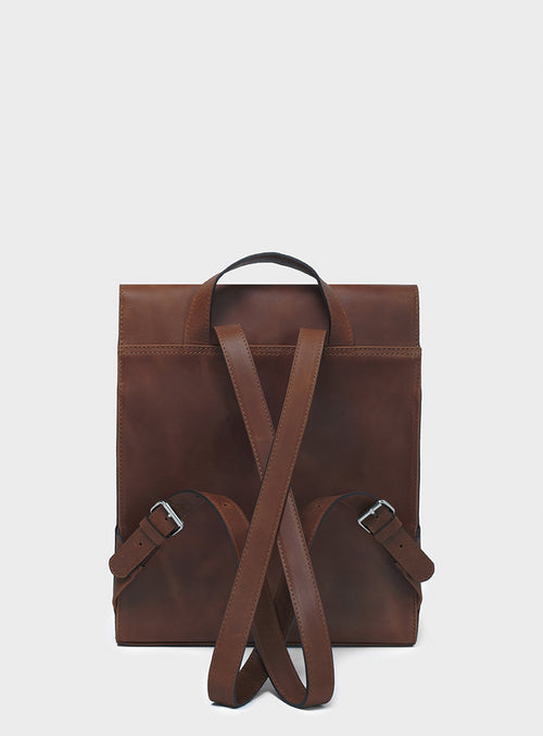 BP05 Backpack Dark-Brown - View 2