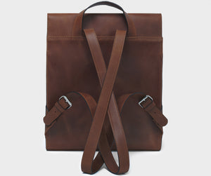 PARK Backpack BP05 Dark-Brown