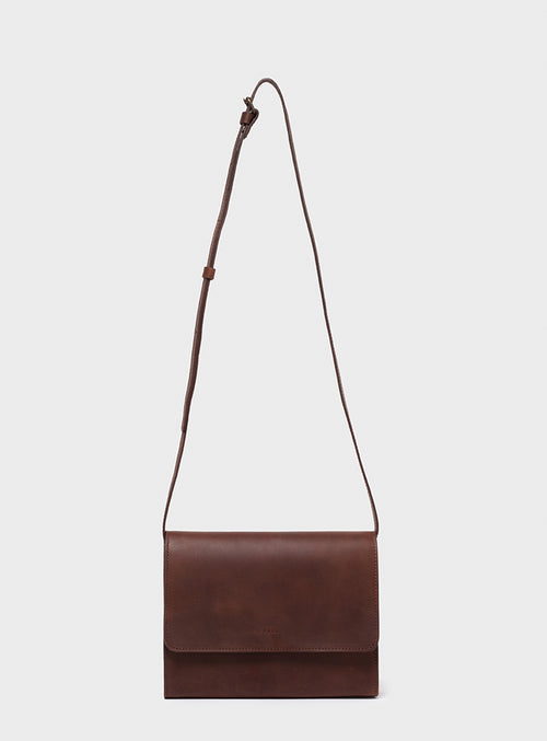 CB01 Crossbody Bag Dark-Brown - View 2