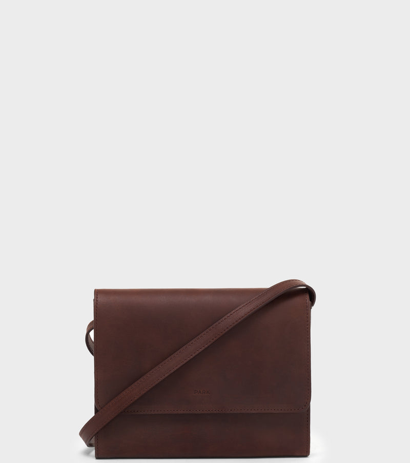 PARK Crossbody Bag CB01 Dark-Brown