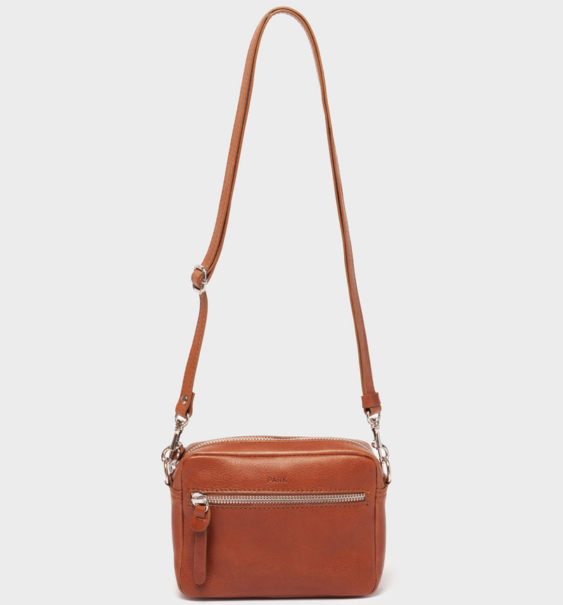 PARK Crossbody Bag CB04 Mini Brown