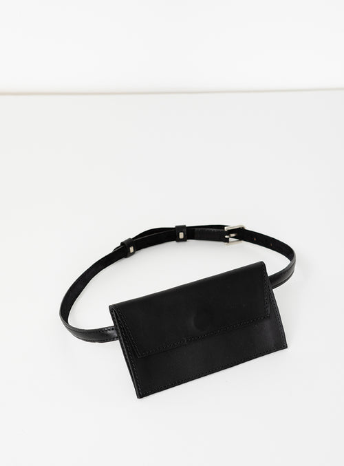 BE02 Pocket Belt Black  - View 1