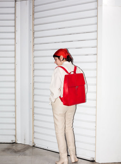 BP04 Backpack Red - View 2